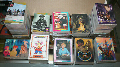 Lot of 24 Non Sport Card Sets - From Indiana Jones to Kong, Dredd & More