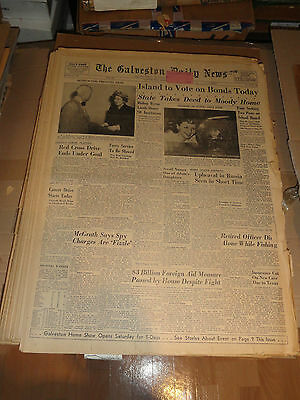THE GALVESTON DAILY NEWS April 1950