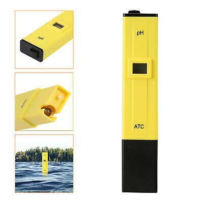 Digital PH Meter 5.9'' LCD Water PH Tester Hydroponics Pocket Pen Tester