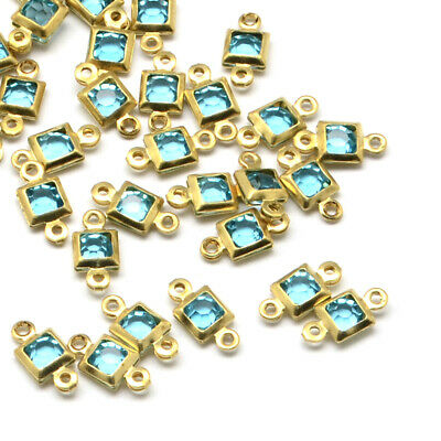 100pcs gold tone finish connectors for ball chains G10