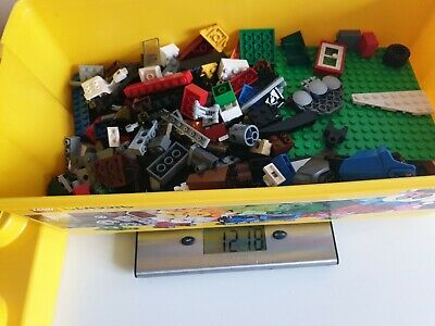 LEGO Classic 10696 Large Creative Brick Box Storage Yellow Tub incomplete 1.2kg