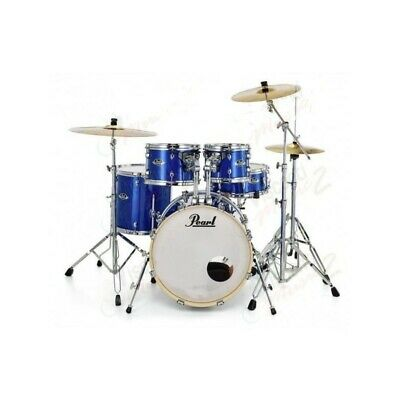 Batteria Acustica Pearl Export EXX705NBR/C717 High Voltage Blue con Hardware e p