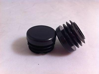 500 Plastic Blanking End Cap Round Tube Insert 20mm