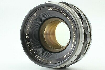 [NEAR MINT+3] Canon 35mm f/1.5 Lens for L39 Leica Screw Mount LTM from Japan E22
