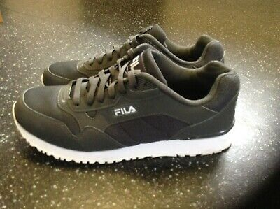 Men's FILA Grey/White Trainers Size 10
