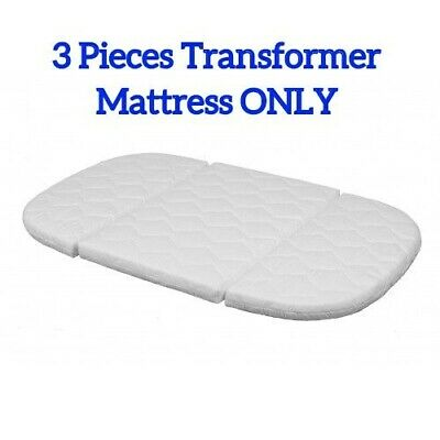 Tweeto Transformer Mattress Coconut, Foam For Wooden Baby Toddler Cot Bed 7 in 1
