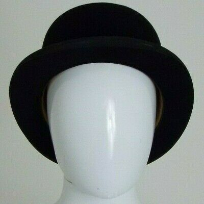 Woodrow of Piccadilly London - Men's Black Vintage Bowler Hat