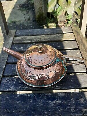 Arts And Crafts copper  Kettle