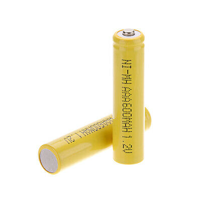 600mAh AAA Batteries Ni-MH 1.2V Rechargeable Battery Pointed Cap Alkaline Cells