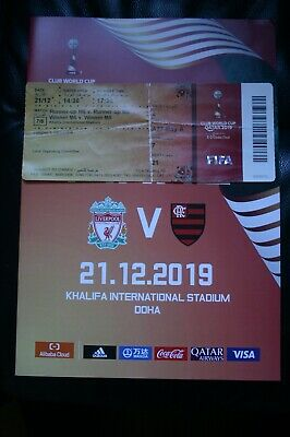 Liverpool v Flamengo 2019 Club World Cup Final Programme and Ticket