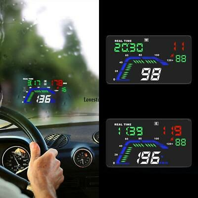 """Q7 5.5/"""" Head Up Display GPS Windscreen Speedometer Projector For Ford Ba Falcon"""