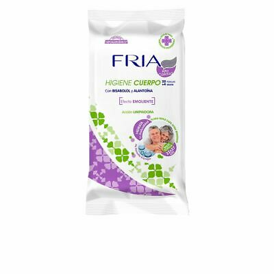 Fria Cold Senior Maxi Emollient Body Towel 22X27 Cm 24 Units Unisex