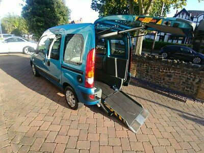 Wheelchair access Renault Kangoo Automatic, Sirus Drive from Wheelchair or Wav