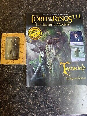 Eaglemoss - Lord Of The Rings - No 111 - Treebeard In Fanghorn Forest