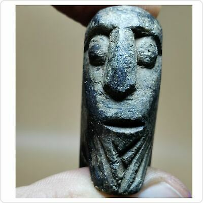 Backtrian Old Stone King Wonderful Unique Face Head Ring # 128