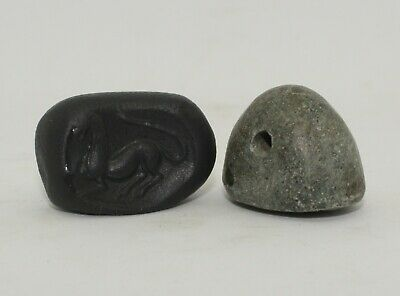 Superb Quality Ancient Carved Lapis Seal Horse - Circa 500Bc  - 0224