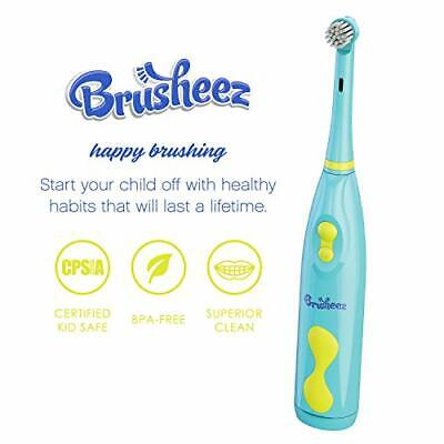 Brusheez Kid's Electric Toothbrush Set (Safari Edition) - Ollie the Elephant