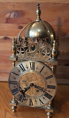 Antique Chelsea Precision Clock Co Boston MA Brass Fish Koi Motif Vintage Mantle