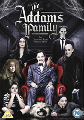 Christopher Hart, Anjelica ...-Addams Family DVD NEW