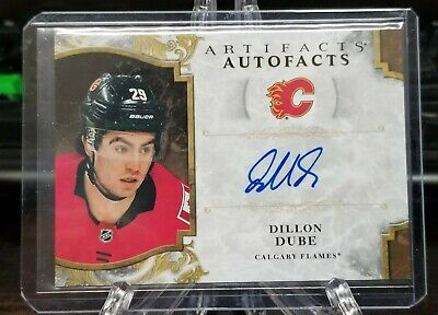 2019-20 UD Upper Deck Rookie RC Auto Dillon Dube! 🔥🔥🔥
