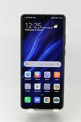 Huawei P30 PRO VOG-L09 128GB/8GB RAM *Cracked* Black Android smartphone mobile