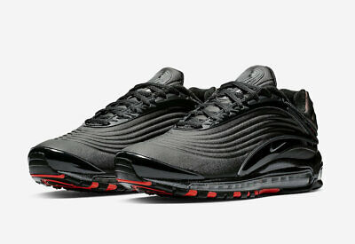 nike air max deluxe se nero anthracite bright crimson