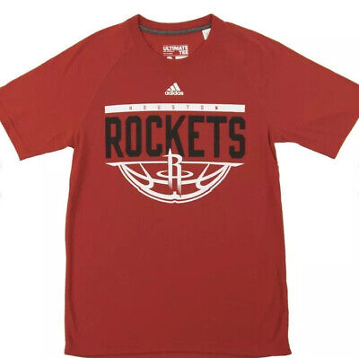 Houston Rockets - Adidas Red Ultimate T-Shirt Tee - Brand New!