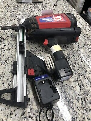 Powers Trak-It C5 DT Deep Track Cordless Gas Fastener Tool Tested Works