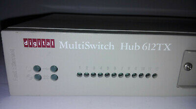 Digital Multiswitch Hub 612TX (DLMTI-M) Very Good Condition