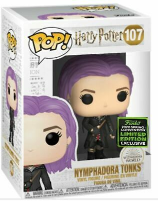 Funko! HarryPotter NYMPHDORA TONKS 2020 ECCC Shared Exclusive PREORDER+Protector