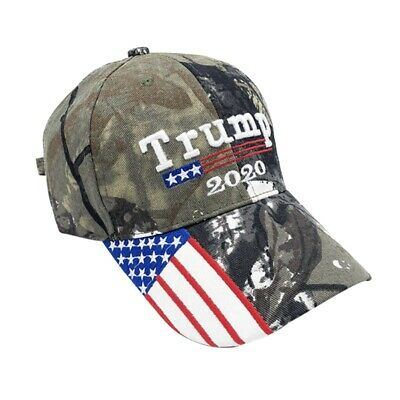 2020 Donald Trump Cap MAKE LIBERALS CRY AGAIN President 2020 Flag Mossy Oak- Hat