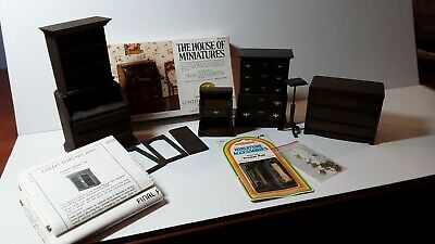 Dollhouse Miniature 1:12 Furniture Lot (The House of Miniatures) UFO Challenge