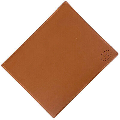 HERMES H logo mouse pad PC PC Notebook / Book cover leather Orange Women
