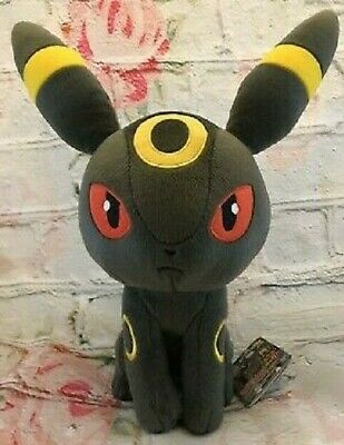 Banpresto Pokemon Umbreon Color Series Character Super DX Plush Toy Soft Doll