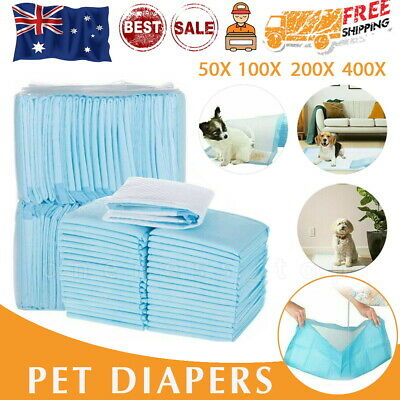 50-400 Dog Training Mat Toilet Pads PET Puppy Indoor Grass Potty Pad 60x60CM