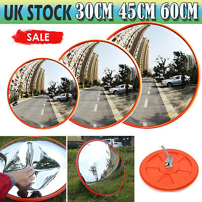 Wide Angle Mirror Traffic Mirror Security Curved Convex Road Driveway Blind Spot