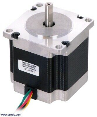 Stepper Motor NEMA 23 Unipolar/Bipolar 200 Steps/Rev 57×56mm 3.6V 2 A/Phase