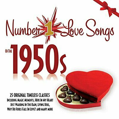 Number 1 Love Songs of the 1950s (No.1 Fifties 50s) [DVD]