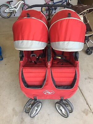 City jogger city mini double in red