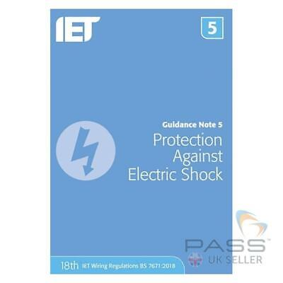 IET Guidance Note 5: Protection Against Electric Shock 8th Edition / 18th Edi...