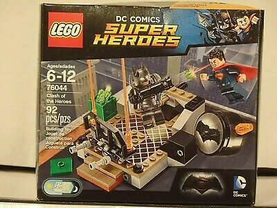 LEGO DC Comics Super Heroes 76044 CLASH OF THE HEROES New In Box Sealed Retired