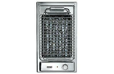 Delonghi Bqi13/2 Barbecue Domino 30Cm Inox