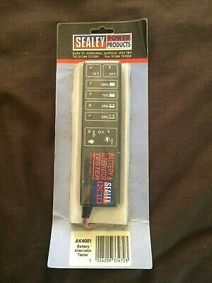 Sealey power products AK4001 battery alternator tester NEW
