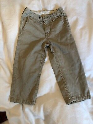 Gap Toddler Beige Slim Fit Chino Trousers 2 Years