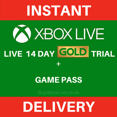 Xbox Game Pass Ultimate 14 Day Membership Xbox One / PC compatible - Instant