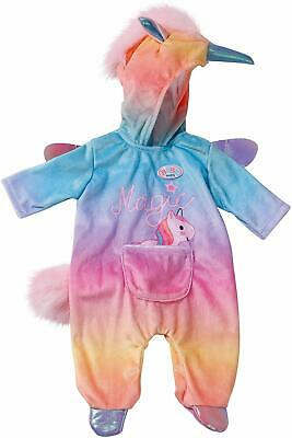 Zapf Creation Baby Born Unicorn All In One 43cm Baby Doll Outfit Accessory