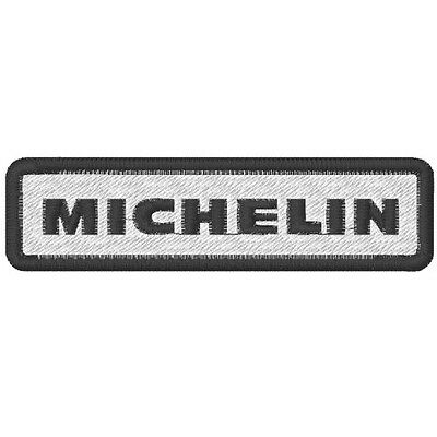 "Racing und Sponsoren Fan Aufnäher "" Michelin"" 10 x 2,6"
