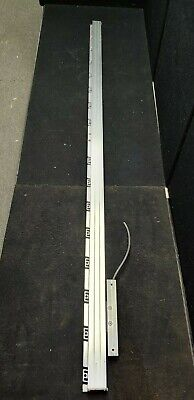 "HEIDENHAIN LC 183/10nm LINEAR SCALE ENCODER & RAIL 65"" 1540mm"
