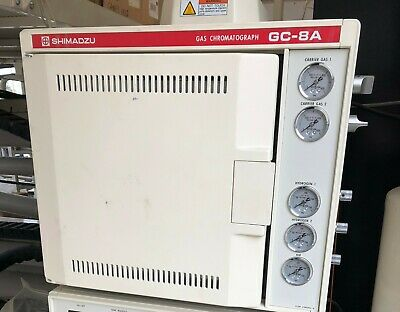 SHIMADZU GAS CHROMATOGRAPH GC-8A, Used, $625 or Best Offer