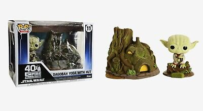 Funko Pop Town: Star Wars™ The Empire Strikes Back - Dagobah Yoda with Hut 46765